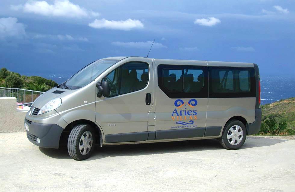 ariesvillas transport